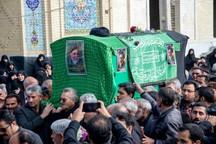 پیکر امام جمعه طبس تشییع شد