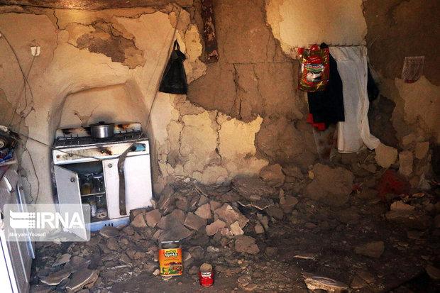 زلزله به ۲ هزار و ۹۴۵ واحد مسکونی در میانه و سراب آسیب زد