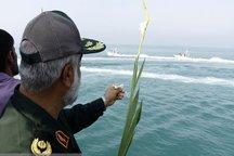 محل نبرد مستقیم شهدای خلیج فارس با آمریکا گلباران شد