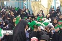 عزای شهید ۶ماهه کربلا در ۱۵۰ نقطه سمنان برگزار شد