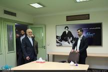 حضور رئیس سازمان انرژی اتمی در پایگاه اطلاع رسانی و خبری جماران