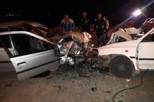 تصادف در اندیمشک یک کشته و هفت مصدوم بر جا گذاشت