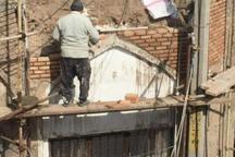 مرمت سردر ورودی بازار تاریخی قیصریه قزوین آغاز شد