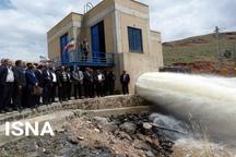 بهره برداری از دو طرح آبیاری و زهکشی در ماکو و پلدشت