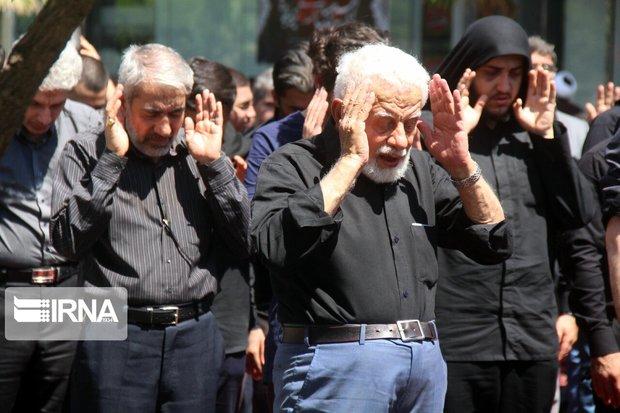 نماز ظهر عاشورای حسینی در تهران اقامه شد