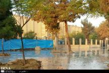 ترکیدگی لوله آب دیوار مسجدجامع تاریخی ورامین را تخریب کرد