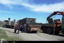 راهداری خراسان رضوی یک دستگاه پل متحرک به غرب کشور فرستاد