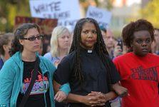اعتراض ها در سنت لوئیس آمریکا ادامه دارد+ تصاویر