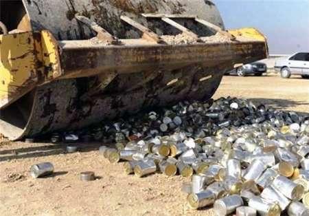 2 هزار و 225 کیلو گرم مواد فاسد در جنوب خوزستان معدوم شد