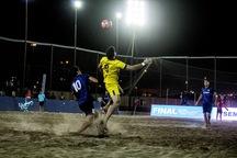 فوتبال ساحلی شهرداری سمنان روی نوار بدشانسی است