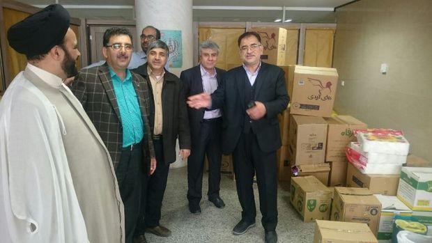 پنج تن کمک های پرسنل بیمارستان رهنمون یزد برای سیلزدگان ارسال شد