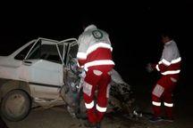 تصادف در جاده جغتای - جاجرم یک کشته داشت