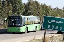 انفجار بمب در اتوبوس کارگران سوری