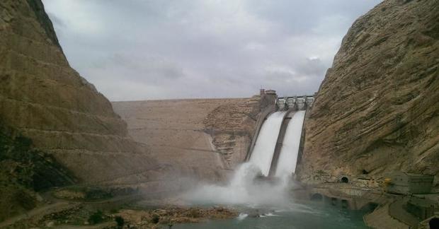 حجم آب سد مارون به یک میلیارد و 47 میلیون مترمکعب رسید