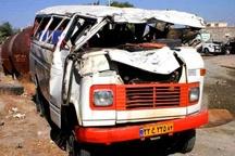 تصادف در اتوبان ساوه 24 مصدوم برجای گذاشت