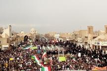 راهپیمایی همبستگی و بصیرت در یزد  مردم دارالعباده به اغتشاشگران 'نه' گفتند