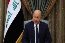 رئیسجمهور عراق: تیراندازی به تظاهرکنندگان دستور و تصمیم دولت نبود