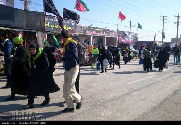 سرپلذهاب آماده میزبانی از زائران اربعین حسینی است