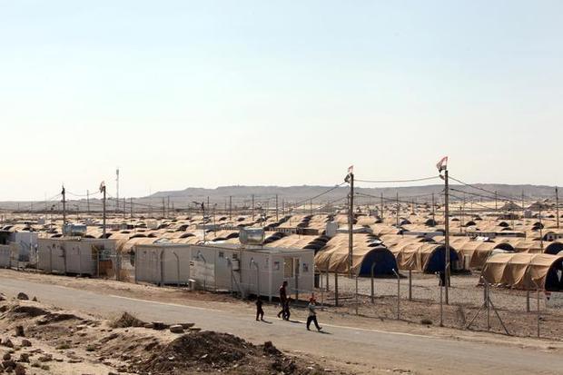 گزارش تصویری/ اردوگاهی که زنان و فرزندان اعضای داعش در آن نگهداری می شوند
