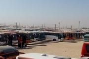 200 دستگاه اتوبوس قزوین عازم مرز مهران شد