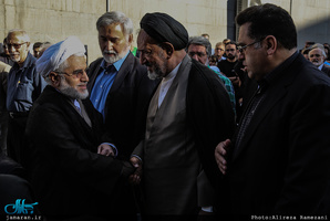 مراسم تشییع پیکر مرحوم ابراهیم یزدی