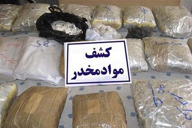 عاملان قاچاق 119 کیلوگرم مواد مخدر دام پلیس افتادند