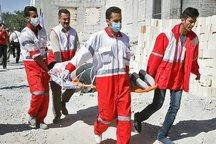 مانور ساعت صفر زلزله در سربیشه برگزار شد