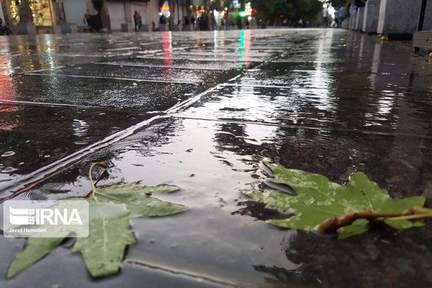 سامانه بارشی همدان را فرامیگیرد