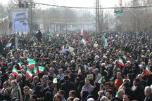 حاشیه هایی از راهپیمایی با شکوه مردم کرج در 22 بهمن