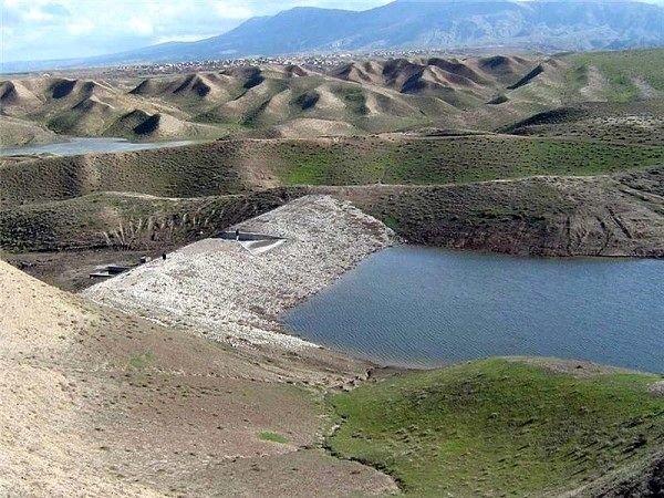 افتتاح بند آبخیزداری در کلک بیشه پلدختر