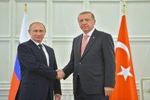 توافق روسیه و ترکیه برای حل درگیریها در مرز سوریه/ تماس تلفنی بشار اسد با پوتین