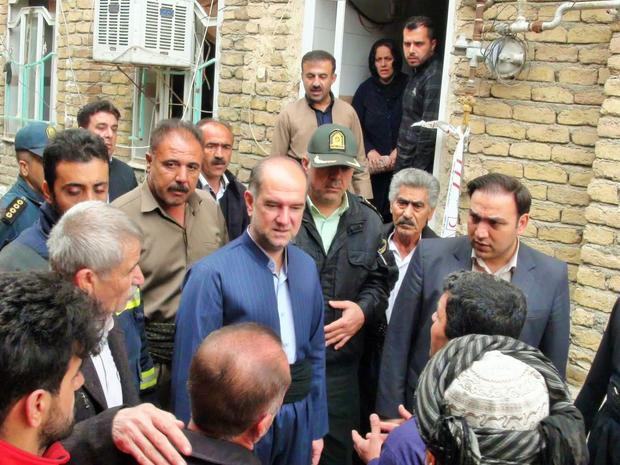 انفجار گاز در جوانرود به یک واحد مسکونی خسارتی وارد کرد