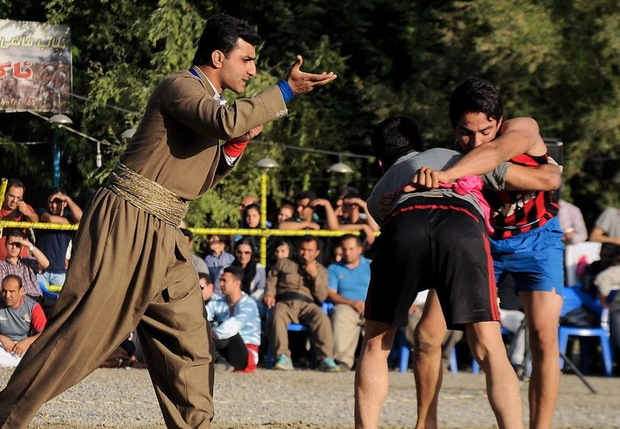 مسابقات زوران استان کرمانشاه در کنگاور برگزار می شود