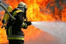 آتش سوزی کارگاه شارژ سیلندر درقم اطفا شد