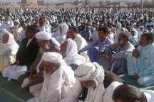 برگزاری نماز قید قربان در بیش از 200 عیدگاه سیستان و بلوچستان