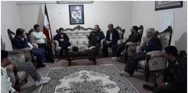 برگزاری جلسه فوق العاده ستاد مدیریت بحران دشت آزادگان با حضور استاندار خوزستان