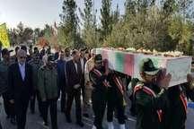 10 شهید گمنام در سیستان و بلوچستان تشییع و خاکسپاری شدند