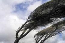 تند باد استان مرکزی را فرا می گیرد