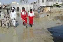 امدادرسانی به 330 نفر گرفتار سیلاب درجنوب سیستان و بلوچستان