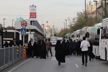 170 دستگاه اتوبوس به نمازگزاران عید فطر مشهد سرویس می دهند