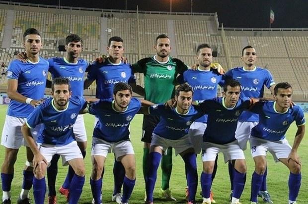 تیم استقلال خوزستان در لیگ دسته یک تیم داری می کند