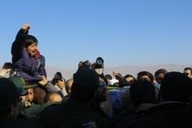 کودک شهید مدافع حرم که لبیک یا زینب سر داد