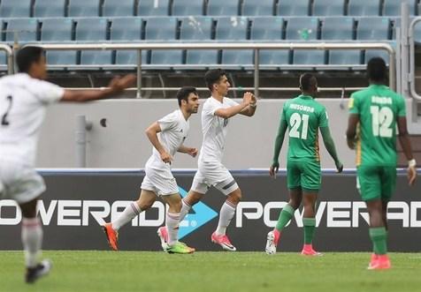 پیروزی تیم ملی جوانان مقابل زامبیا در نیمه نخست