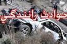 حادثه رانندگی در محور ساوه - همدان 2 کشته به جا گذاشت