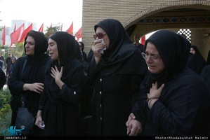 مراسم تشییع پیکر بهرام شفیع
