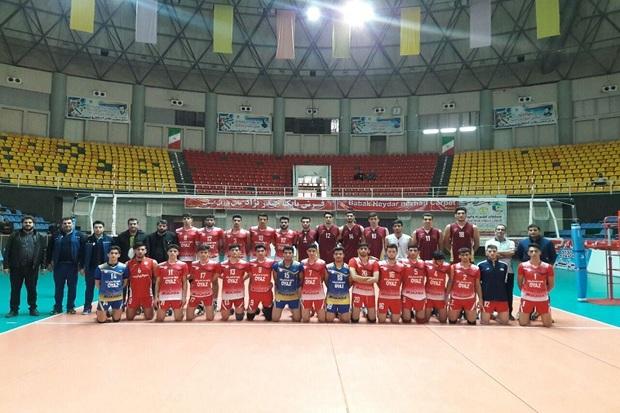 والیبالیست های نوجوان شهرداری ارومیه حریف دورنا نشدند