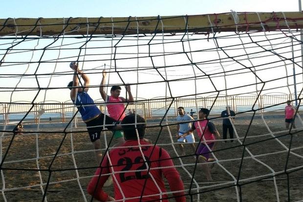 اصفهان قهرمان مسابقات هندبال ساحلی کشور شد