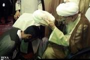 برگزاری آیین عمامه گذاری طلاب در دفتر مراجع عظام تقلید