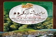 اولین جشنواره گردو در روستاهای هویه و سرهویه برگزار می گردد