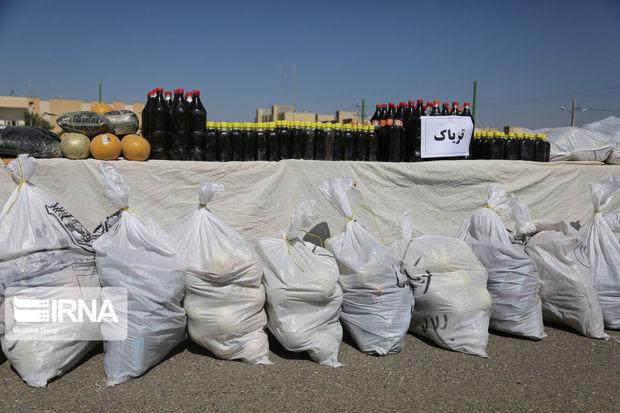 بیشاز ۳ تن انواع موادمخدر در ایرانشهر کشف شد
